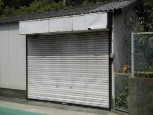 福岡市 電動シャッター 施工前