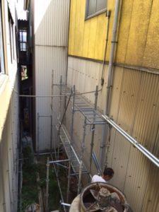 名古屋市守山区 壁面コーキング3
