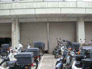 警察署様 倉庫シャッター取替工事4