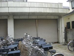 警察署様 倉庫シャッター取替工事2
