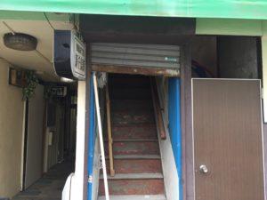 東京都新宿区 手動シャッター取替 セーヌ 文化シャッター ペールベージュ1