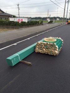 愛知県弥富市 フェンス設置