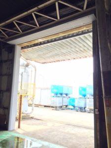 静岡県磐田市 重量シャッター 東洋シャッター 無塗装1