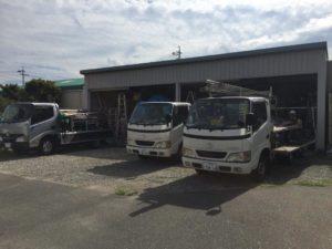 愛知県半田市 電動シャッター取替工事 オリジナル パールホワイト