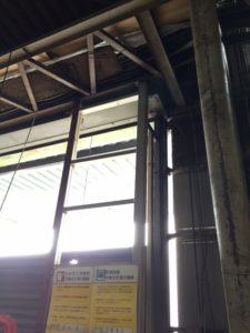 静岡県磐田市 重量シャッター取外し3