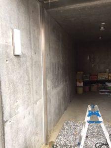 愛知県豊明市 ステンレス製曲げ物取付 1