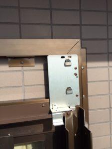 愛知県あま市 手動窓シャッター取付 下地付2