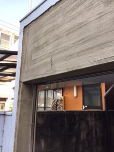愛知県名古屋市北区 外構 モルタル下地 2
