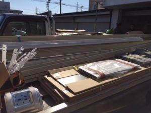 愛知県津島市 文化シャッター セーヌ モートR パールホワイト3