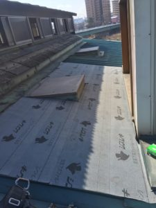 名古屋市守山区 雨漏り対策板金工事 2
