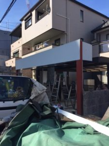 愛知県名古屋市熱田区 オリジナルゲートシャッター 電動 チェーン駆動5