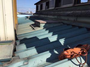 愛知県名古屋市守山区 防水塗装工事 屋根 施工前2