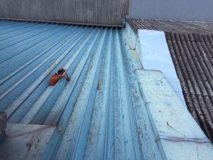 愛知県名古屋市守山区 防水塗装工事 屋根 施工前4