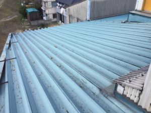 愛知県名古屋市守山区 防水塗装工事 屋根 施工前3