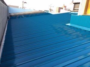 愛知県名古屋市守山区 防水塗装工事 屋根 施工後3