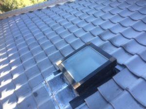 三重県三重郡川越町 屋根修繕 瓦屋根 雨漏り トップライト 天窓 9