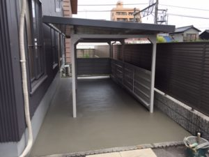 愛知県あま市 サイクルポート ヨドコウ 自転車置き場 5