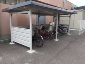 愛知県あま市 サイクルポート ヨドコウ 自転車置き場 6