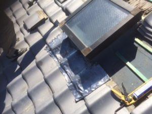 三重県三重郡川越町 屋根修繕 瓦屋根 雨漏り トップライト 天窓 10