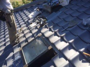 三重県三重郡川越町 屋根修繕 瓦屋根 雨漏り トップライト 天窓 8