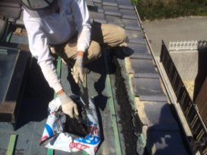 三重県三重郡川越町 屋根修繕 瓦屋根 雨漏り トップライト 天窓 6