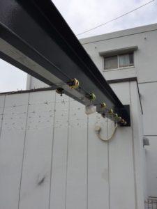 名古屋市 有刺鉄線設置 2