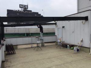 名古屋市 有刺鉄線設置 1